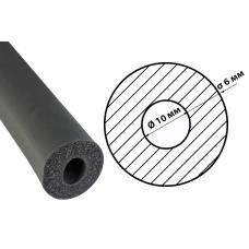 Каучукова теплоізоляція для труб із вн. Ø 10 мм та товщиною ізоляції 6 мм ODE R-Flex Pipe Std трубка 10х6 мм