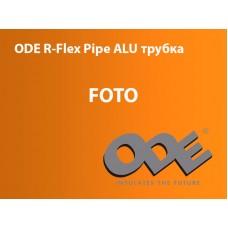 Каучукова теплоізоляція для труб із вн. Ø 114 мм та товщиною ізоляції 13 мм ODE R-Flex Pipe ALU трубка 114х13 мм